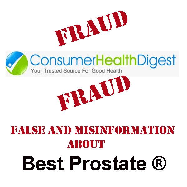 Fruad ConsumerHealthDigest.com
